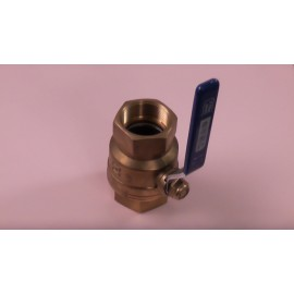 40mm Female Ballvalve Brass