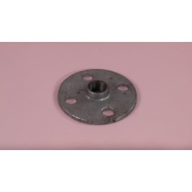15mm Round Screw Flange