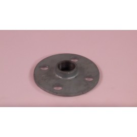 20mm Round Screwed Flange