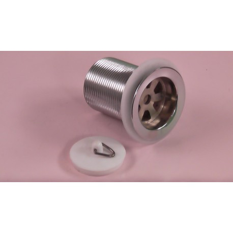 40mm Longtail Basin Plug and Waste