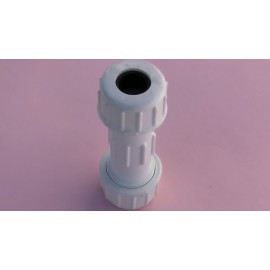 15mm Hpvc compression coupling