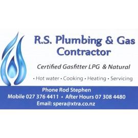 R.S Plumbing & Gas Contractor