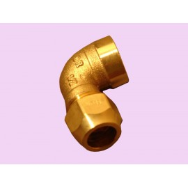 15mm brass female crox elbow
