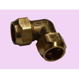 15mm Brass crox elbow