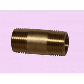 15mm x 25 Brass crox nipple