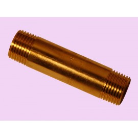 15mm x 65mm Brass long barrel nipple
