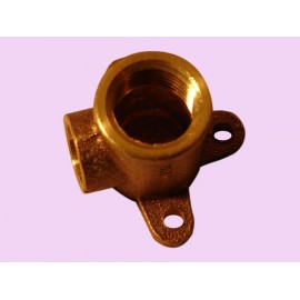 15mm Brass female wingback elbow