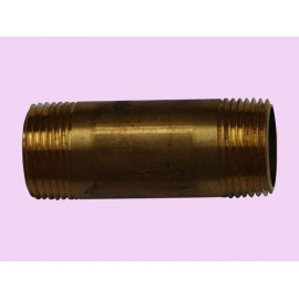20mm x 40 Brass barrel nipple