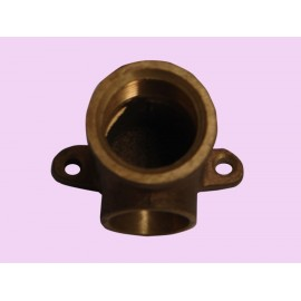 20mm Brass female brazing wing back elbow