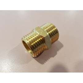 15mm Brass Crox nipple