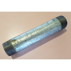 25mm x 150mm Long Galvanized Barrel Nipple
