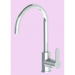 Greens Astro Chrome Gooseneck Sink Mixer