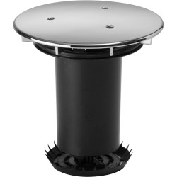 Aquaknight Domed Chrome Lid Assembly