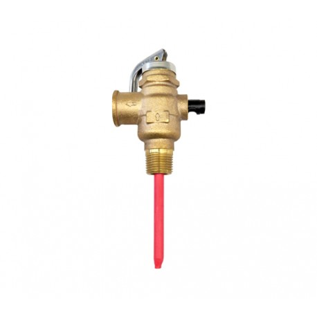 "RMC 15mm 850 KPA P&T Relief Valve with 1"" Extension"