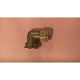 25mm brass female crox elbow