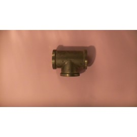 40mm brass screwed tee