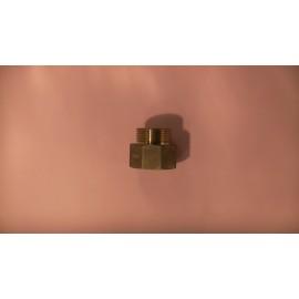 40mmx32mm brass m&f nipple