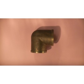50mm brass female elbow