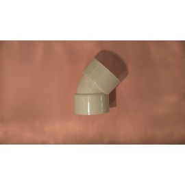 80mmx45 hpvc plain elbow