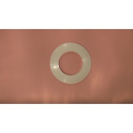 Pacific 80mm Wall Flange white