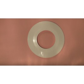 Pacific 100mm Wall Flange white
